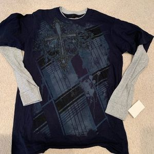 Men's size M Long sleeve T shirt , NWT